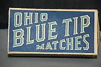 Ohiobluetipmatches2boxesfullorigina